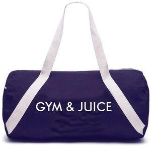 PRIVATE PARTY | Gym & Juice Denim Duffel Gym Bag